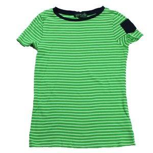 Ralph Lauren Ladies Short Sleeve Shirt Size M